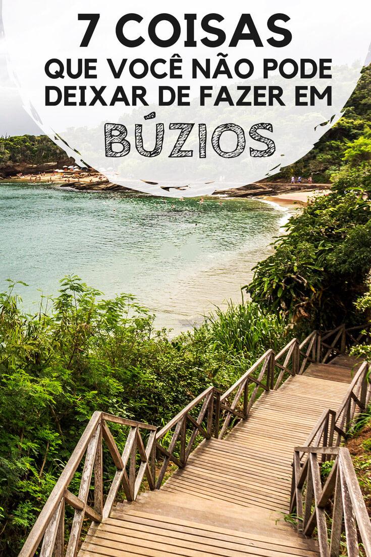 Búzios, no Rio de Janeiro: Passeios, atrações, praias, pontos turísticos e dicas do que fazer na cidade.
