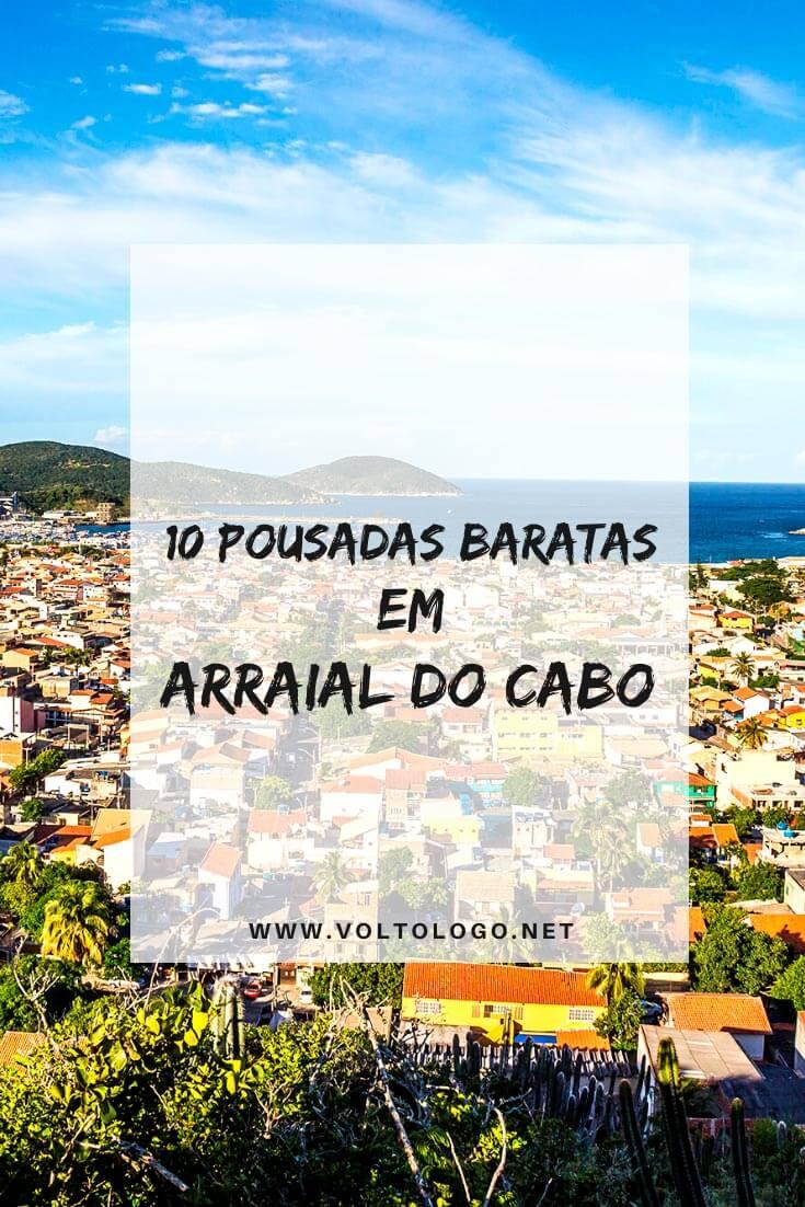 Pousadas baratas em Arraial do Cabo, no Rio de Janeiro: Descubra quais são as hospedagens mais econômicas da cidade e que, ainda assim, garante uma ótima estadia para a sua viagem!