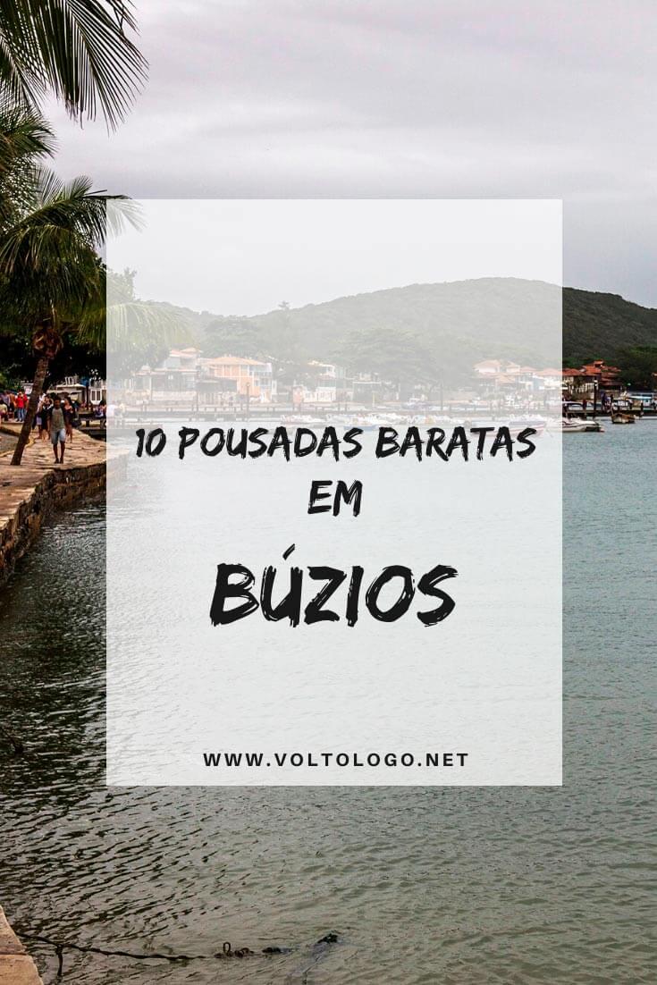 Pousadas baratas em Búzios, no Rio de Janeiro: Descubra quais são as hospedagens mais econômicas da cidade e que, ainda assim, garante uma ótima estadia para a sua viagem!