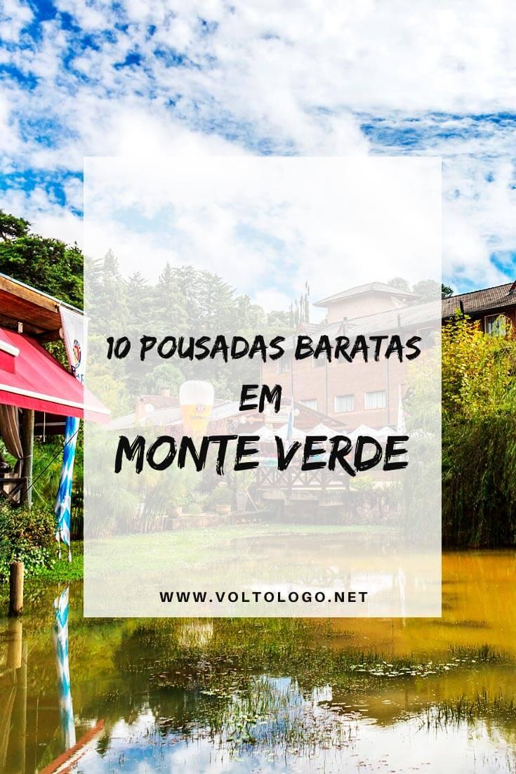 Pousadas baratas em Monte Verde, em Minas Gerais: Descubra quais são as hospedagens mais econômicas para se hospedar durante a sua viagem a Monte Verde.