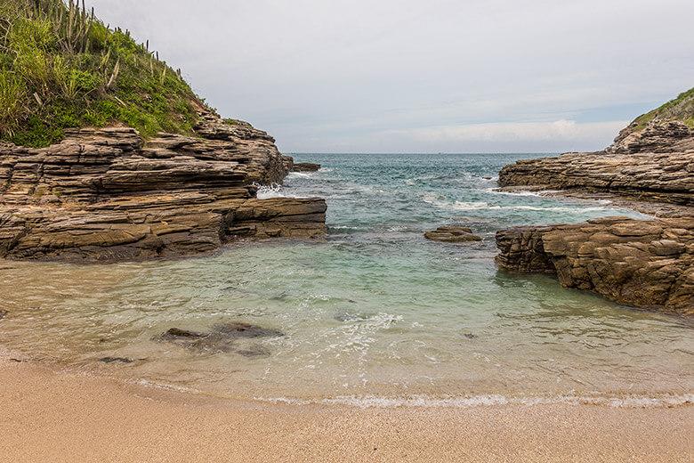 Praia em Búzios