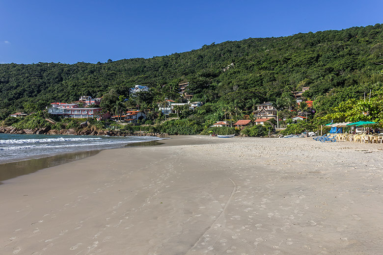 melhores praias de Florianópolis para famílias