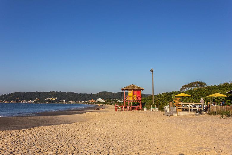 lista de melhores praias de Florianópolis