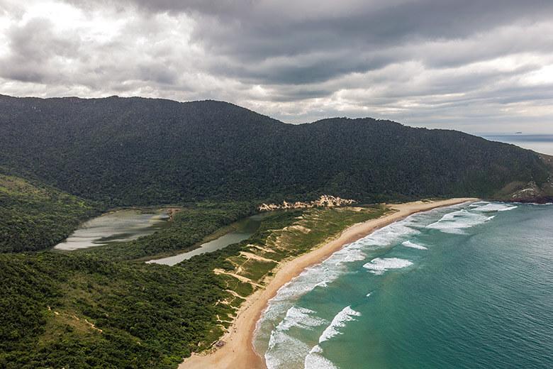 melhor praia de Florianópolis