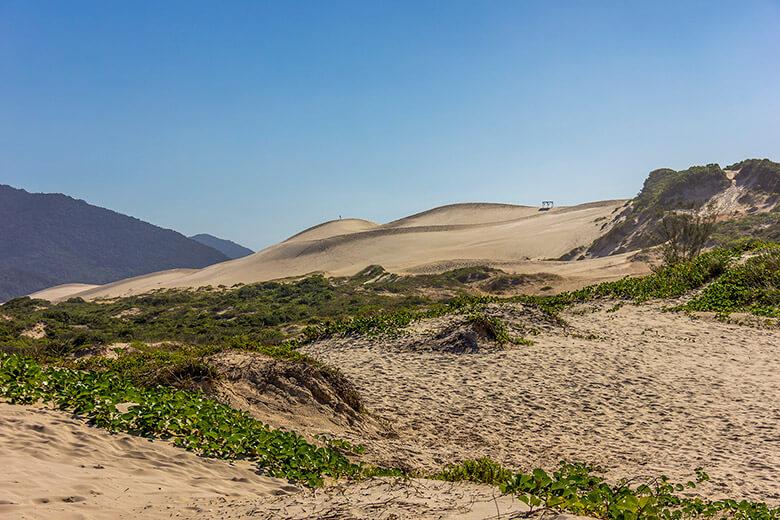 roteiro pelas dunas da Joaquina, Florianópolis