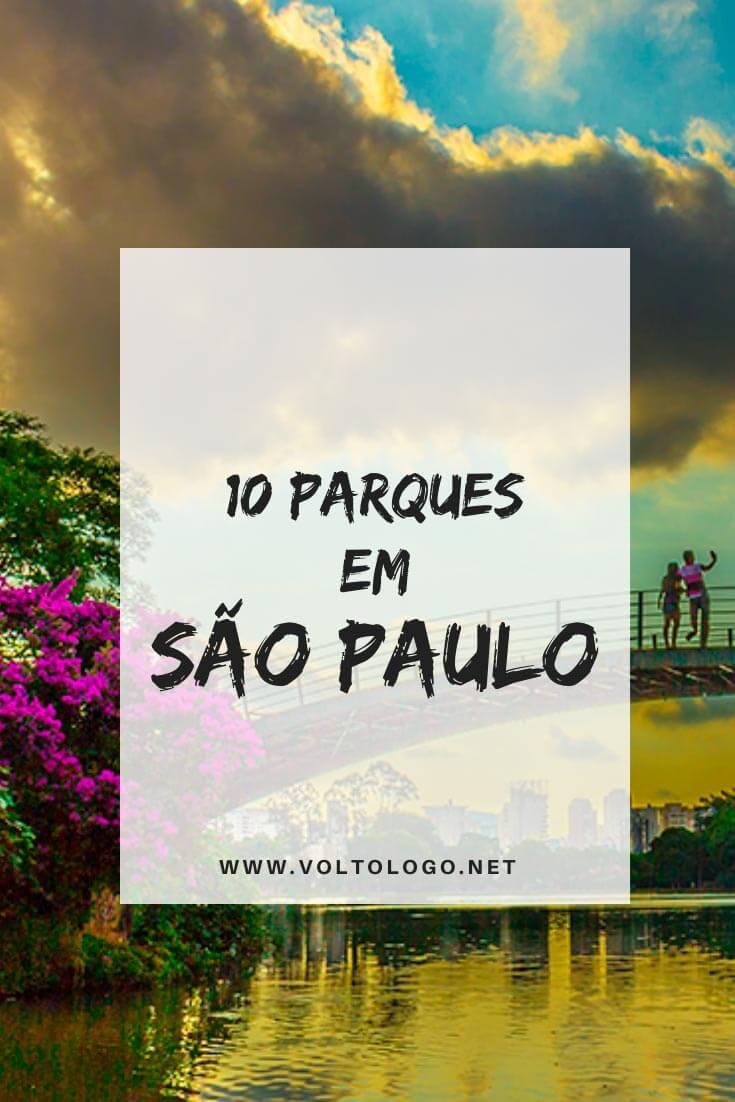 Melhores parques em São Paulo: Descubra quais são os parques mais bacanas da cidade e que são próximos ao metrô! [Ideais para relaxar!]