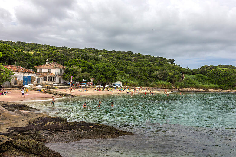 Praia Azeda, na Região dos Lagos