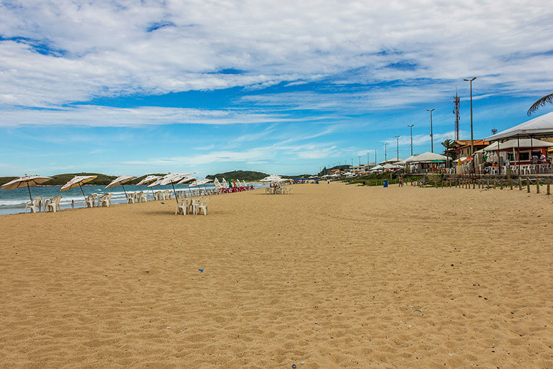 Praia do Peró, em Cabo Frio