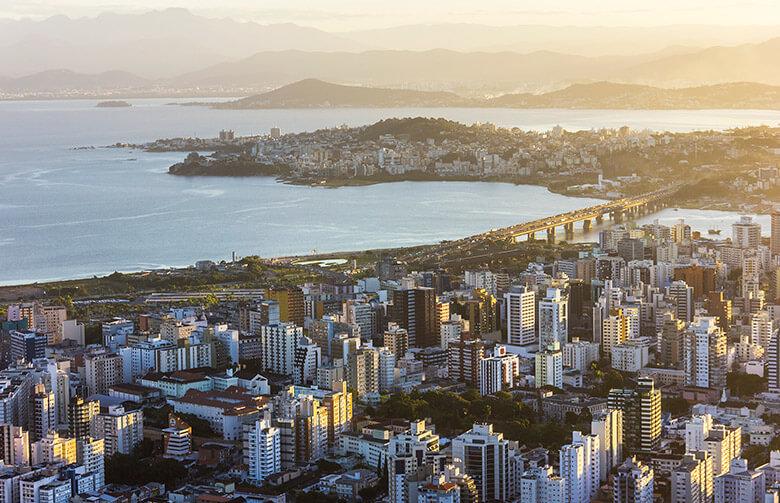 roteiro pelo mirantes de Florianópolis