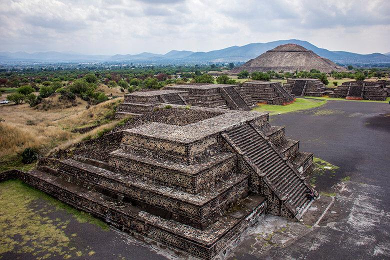 ruínas para conhecer no México