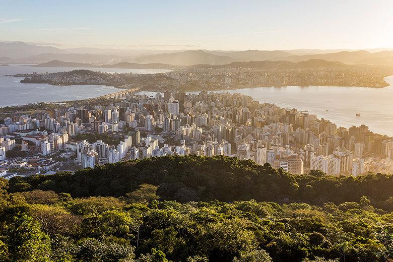 mirante do morro da cruz, em Florianópolis, dica
