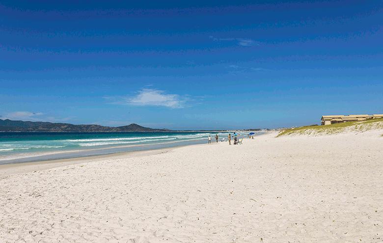 melhores praias de Cabo Frio