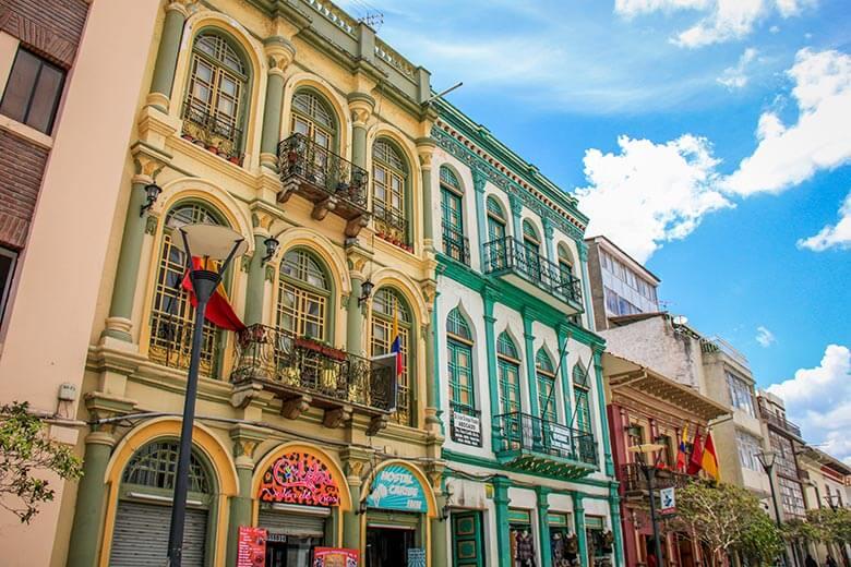 Cuenca, na América do Sul