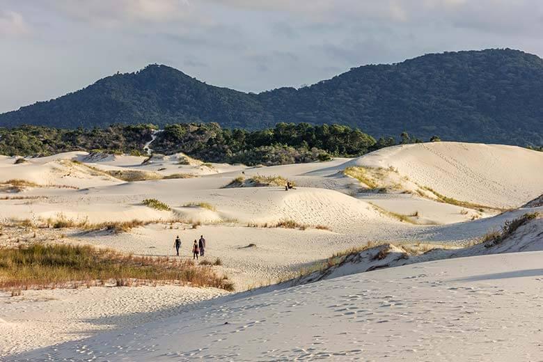 dunas em Florianópolis - ponto turístico
