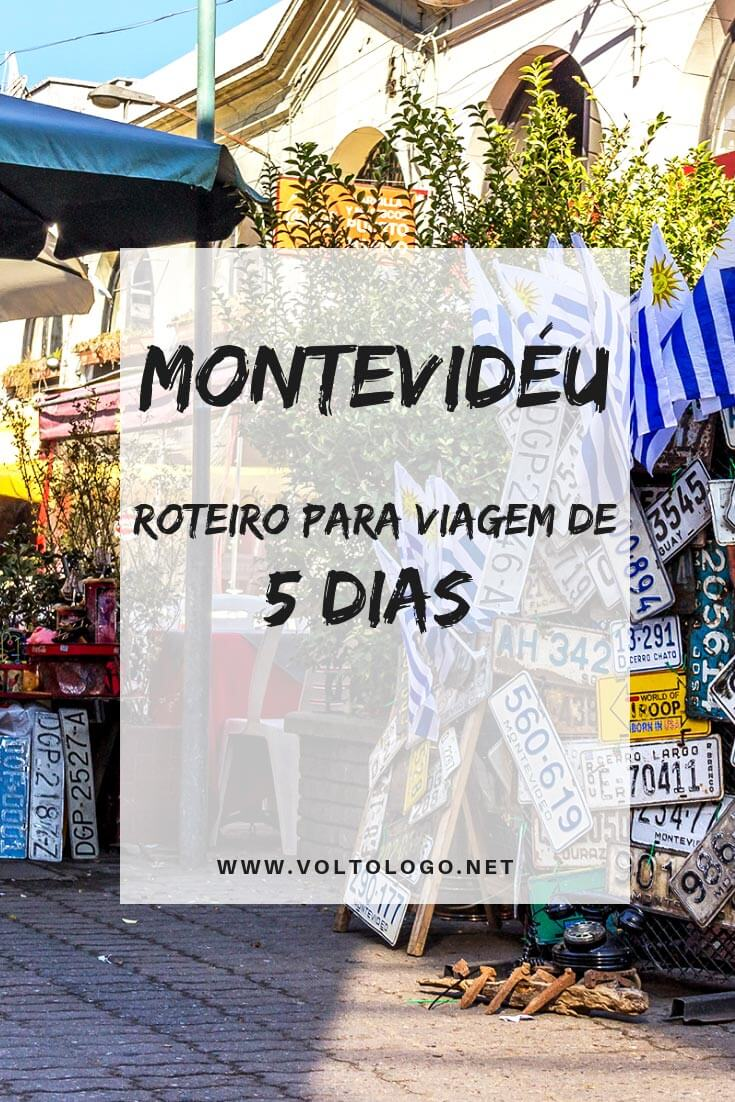 Montevidéu, no Uruguai: Dica de roteiro para viagem de 5 dias pela capital do país. Descubra o que fazer dia a dia, e quais lugares e atrações você não pode deixar de visitar.