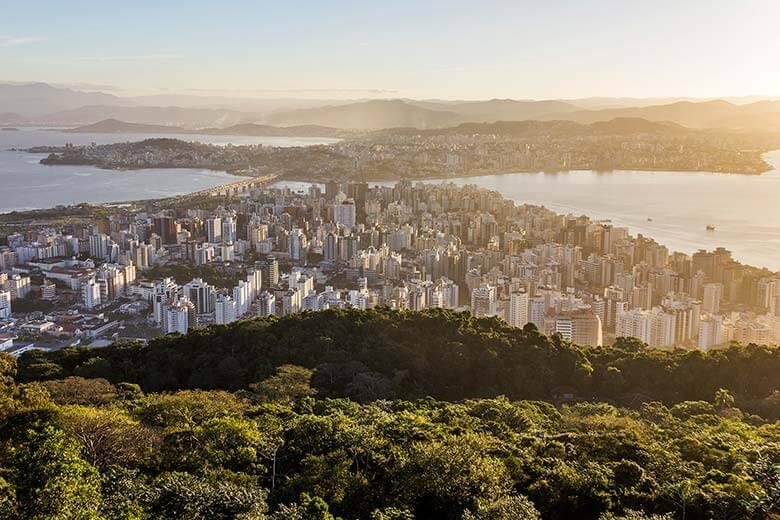pontos turísticos em Florianópolis - mirantes