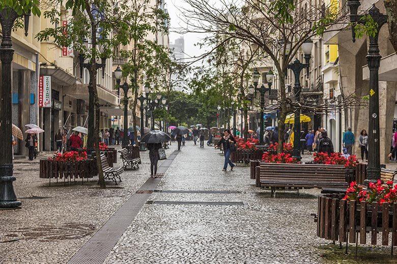 rua das flores em Curitiba - dicas