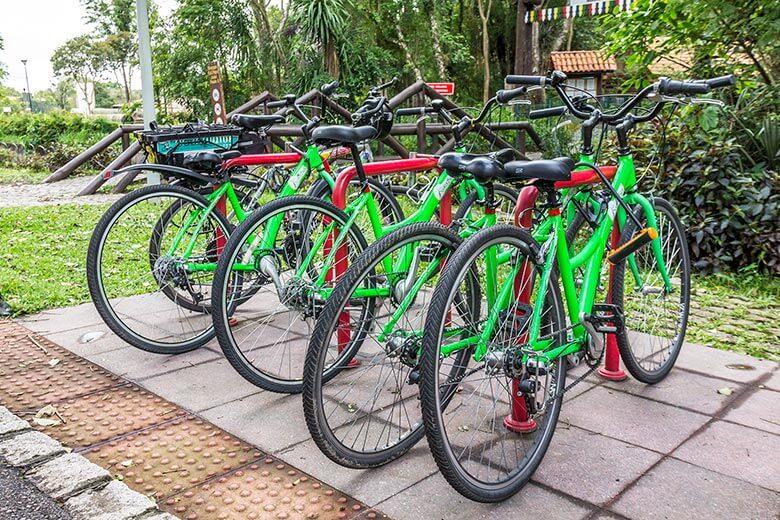 tour de bicicleta em Curitiba - dica