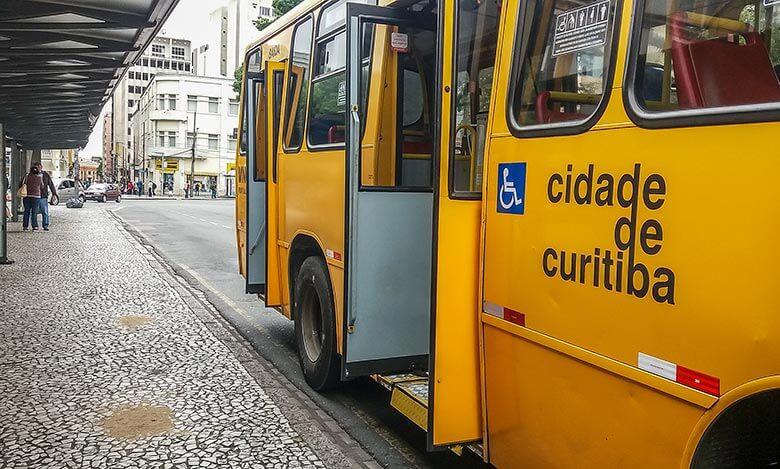 transporte público em Curitiba