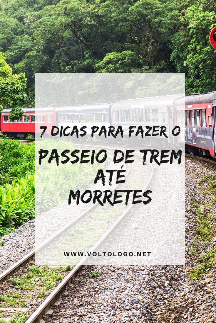 Passeio de trem entre Curitiba e Morretes: Descubra tudo o que você deve saber para organizar seu passeio bate-vota desde a capital do Paraná.
