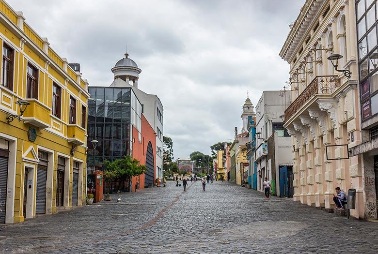 centro histórico de Curitiba - dicas