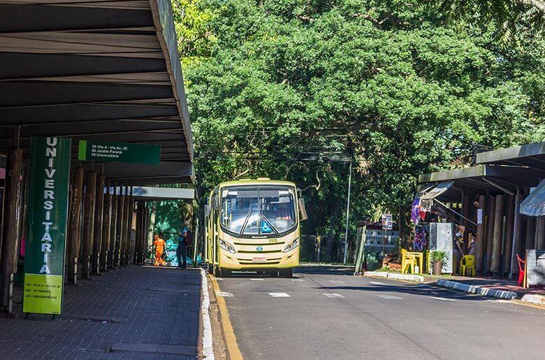 preço de ônibus em Foz do Iguaçu