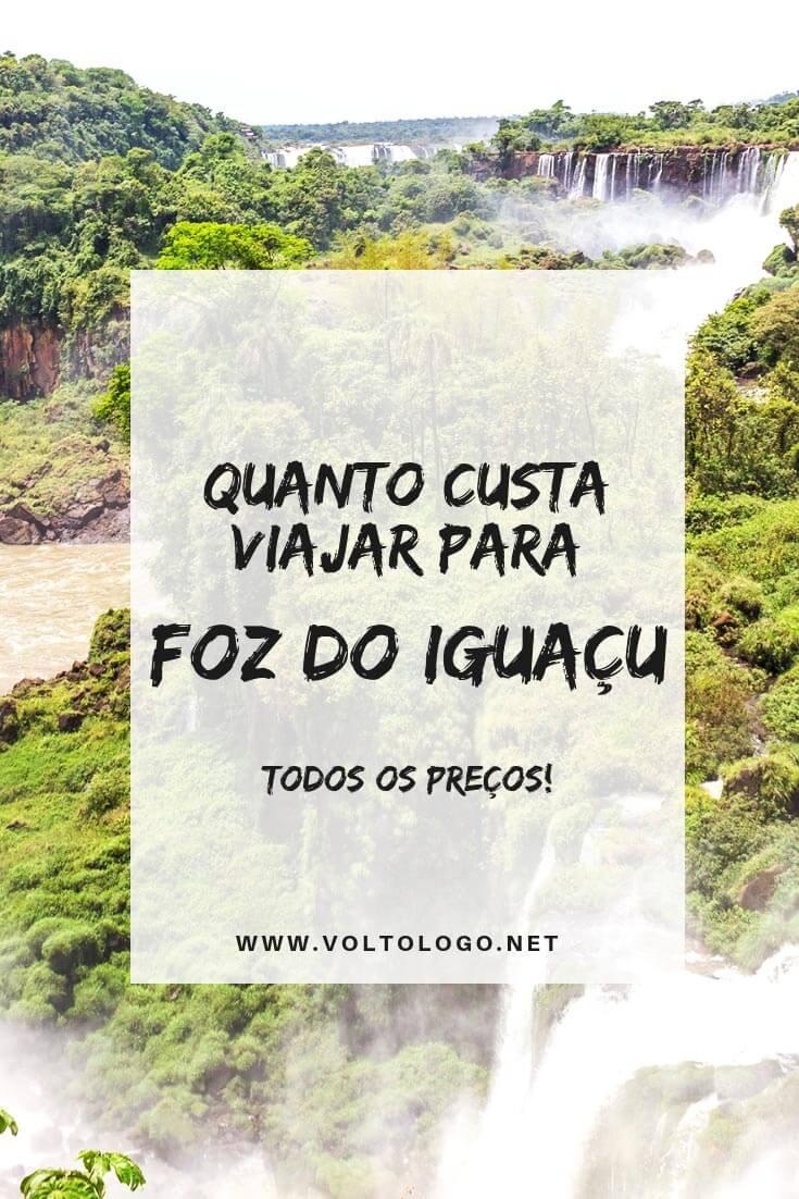 Quanto custa viajar pra Foz do Iguaçu: Descubra os preços de hospedagem, transporte, alimentação, passeios e atrações turísticas da cidade.