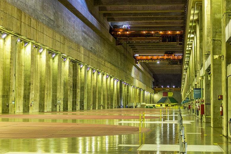 usina hidrelétrica de Itaipu - dicas para conhecer