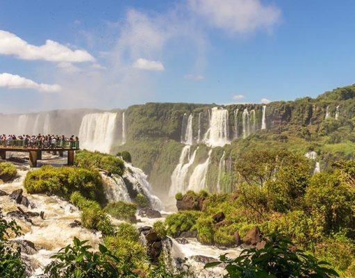cataratas em Foz do Iguaçu - Parque Nacional