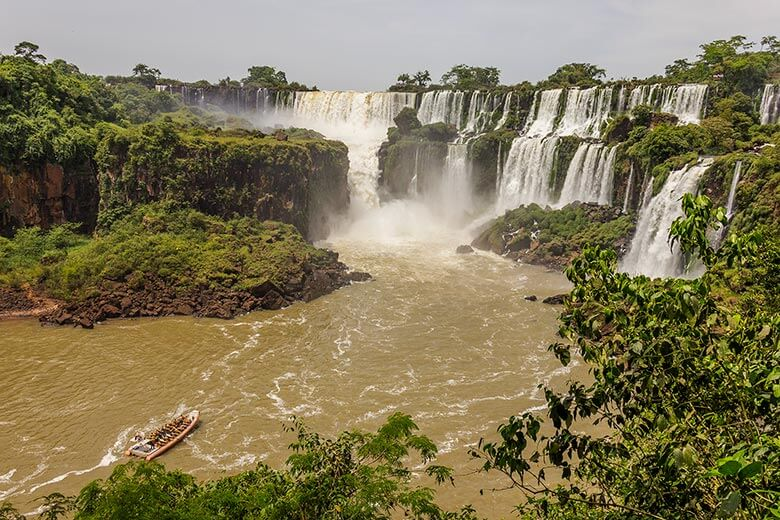 circuito do Parque Nacional Iguazú