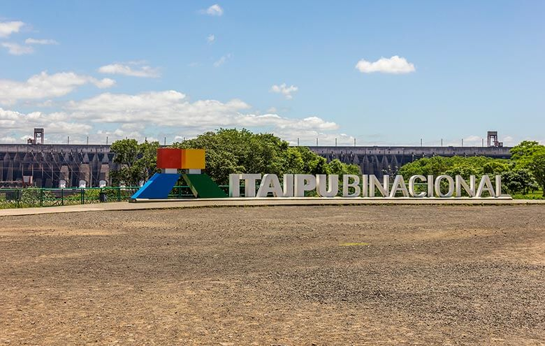como visitar a usina de Itaipu