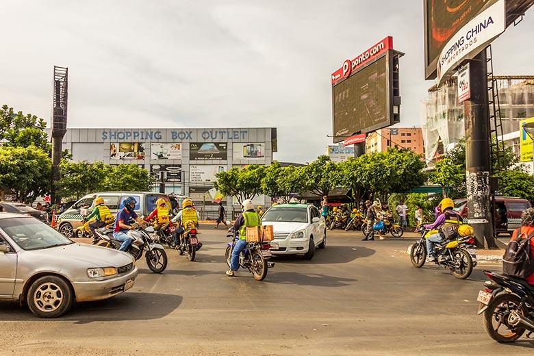trânsito no Paraguai