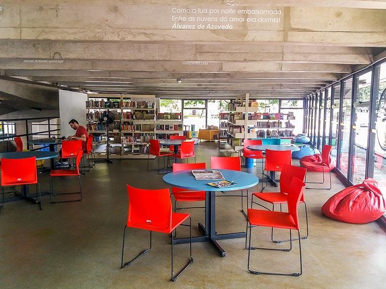 bibliotecas e livrarias na Vila Madalena