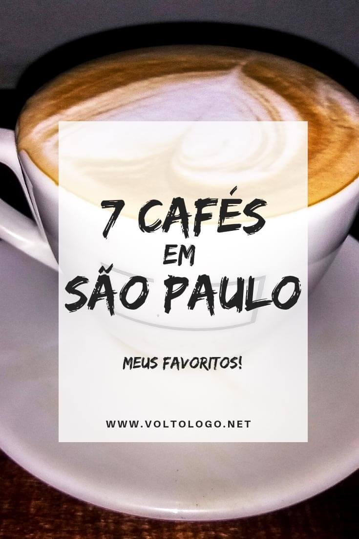 Cafés em São Paulo: Dicas de cafeterias para conhecer em Sampa durante a sua viagem!