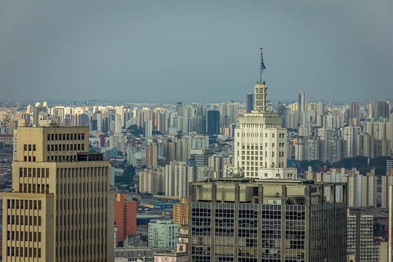 pontos turísticos em São Paulo - mirantes