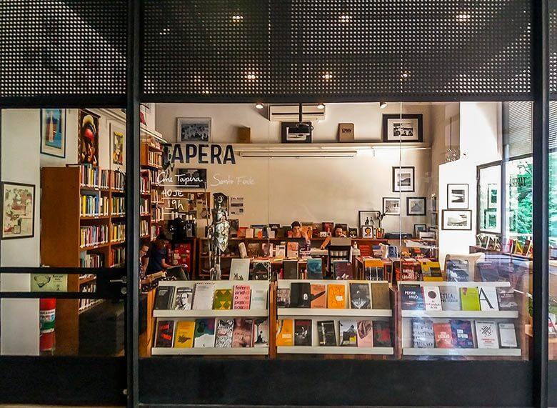 livraria tapera em São Paulo