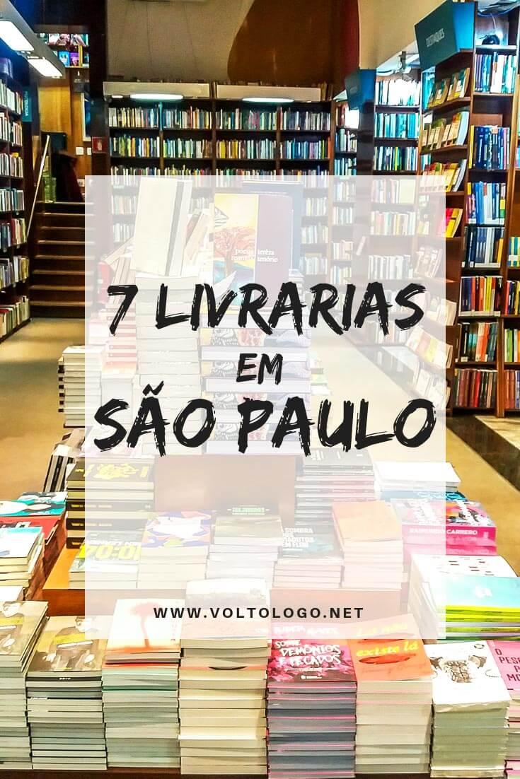 Livrarias em São Paulo: Descubra quais são os lugares que não decepcionarão os apaixonados por livros.