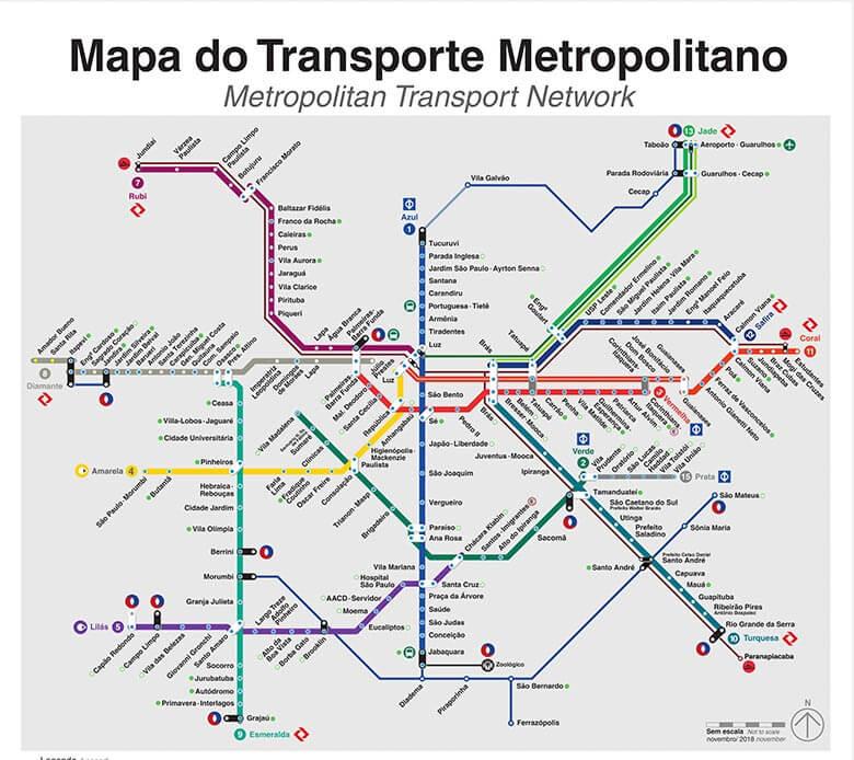 Como andar de metrô em São Paulo  Guia Indispensável 40727fd306