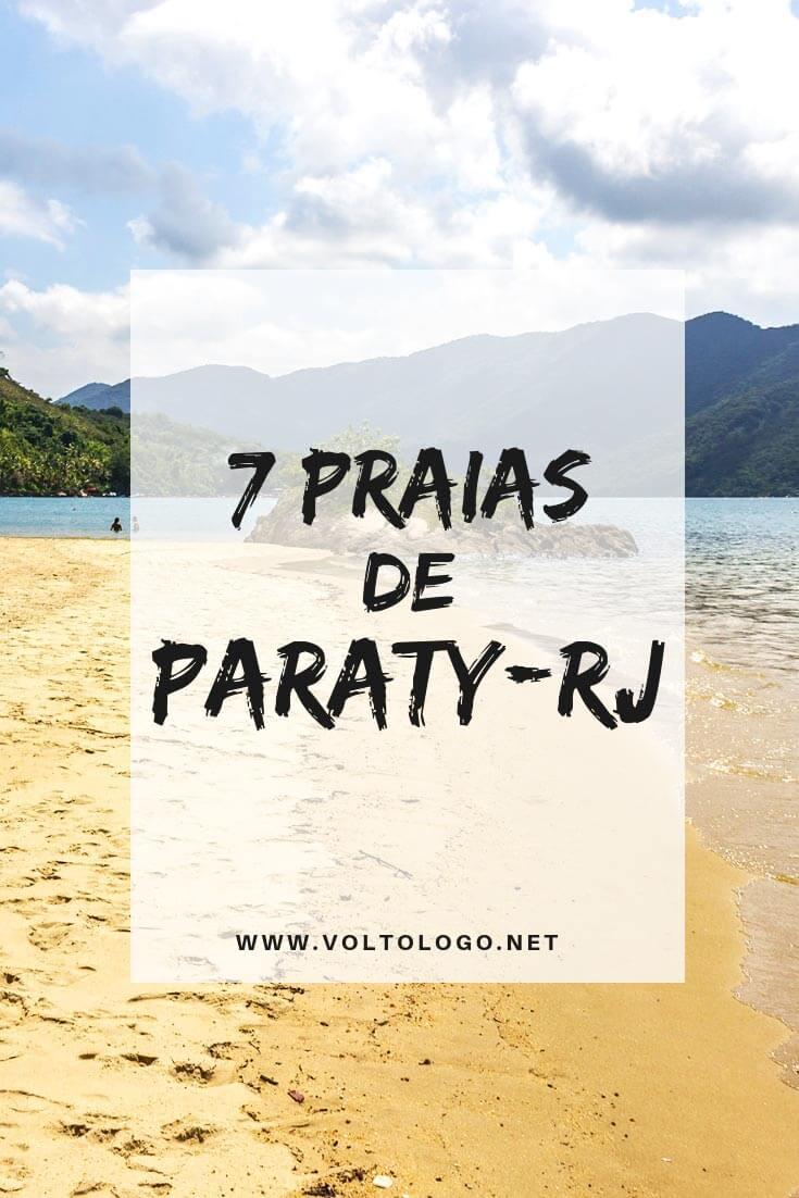 Praias de Paraty: Descubra como são algumas das principais praias da cidade-histórica, e descubra quais delas vale a pena você incluir no seu roteiro de viagem.