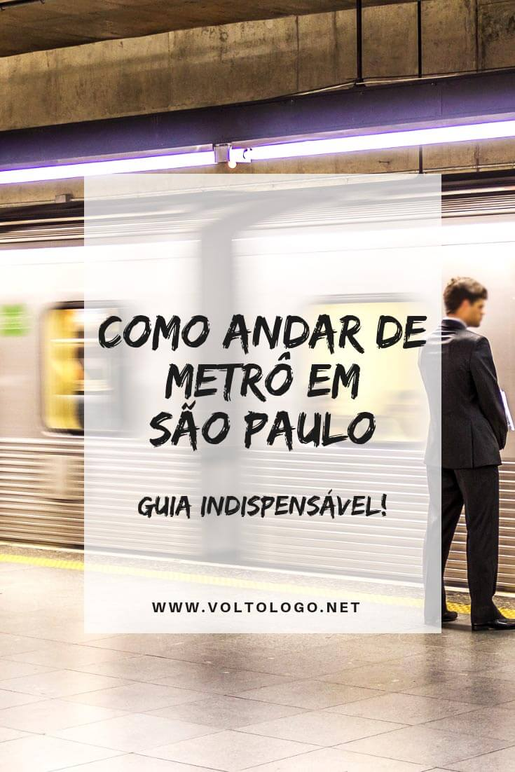 Como andar de metrô em São Paulo  Descubra quantas linhas há na cidade e  quais ce26bc641a