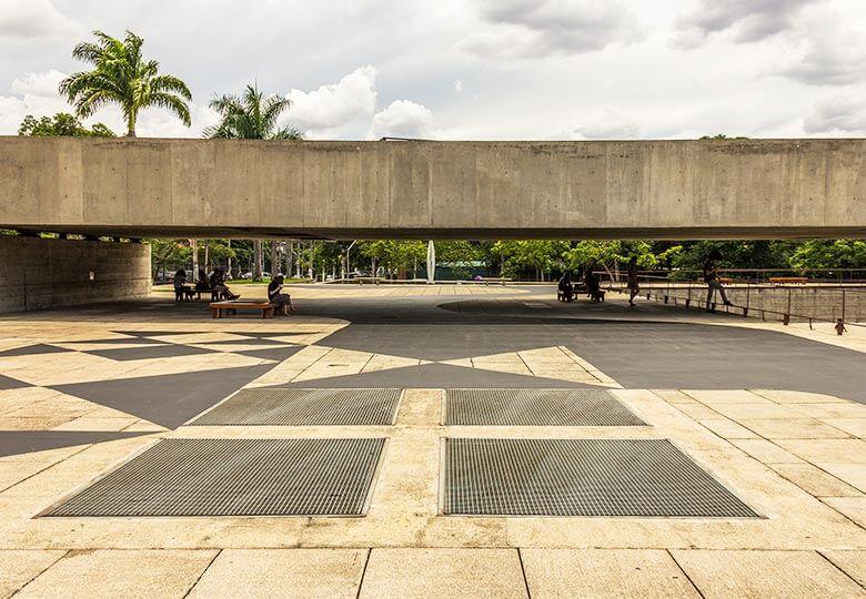 Museu Brasileiro de Escultura e Ecologia em São Paulo