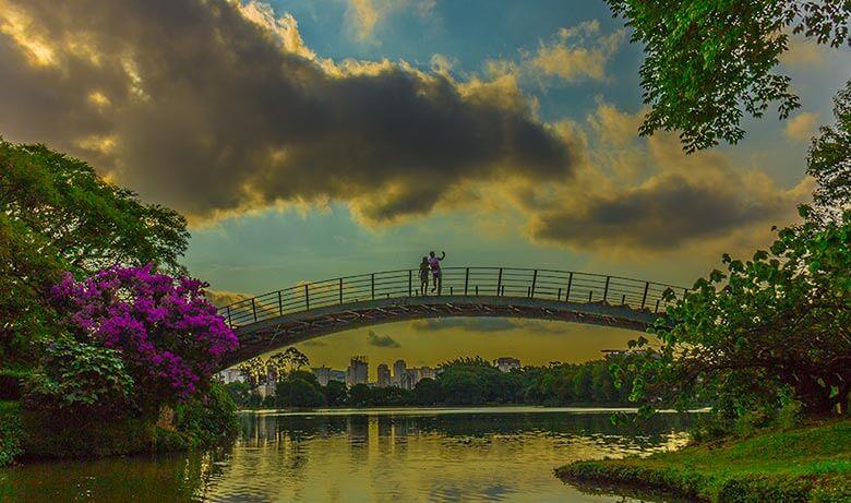 turismo pelos parques de São Paulo