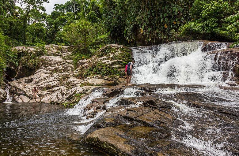 passeio pelas cachoeiras em Paraty