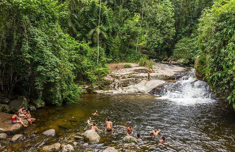 melhores cachoeiras em Paraty