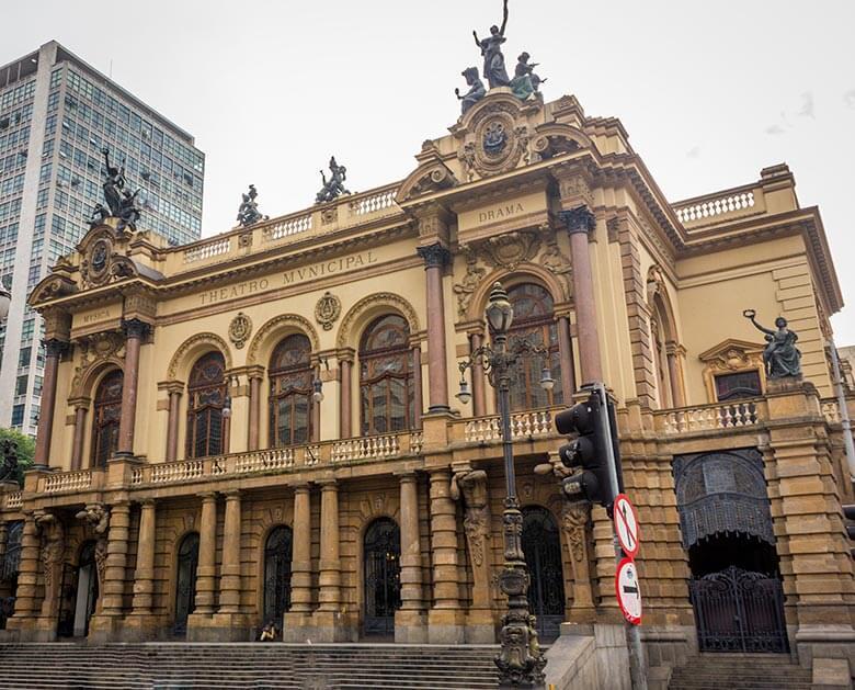 Lugares para conhecer em São Paulo - Theatro Municipal