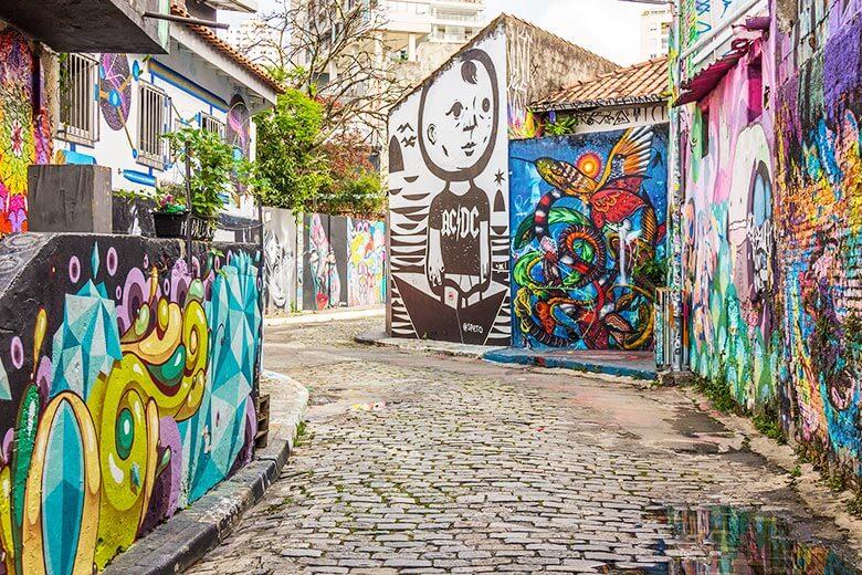 Turismo pelos grafites em São Paulo