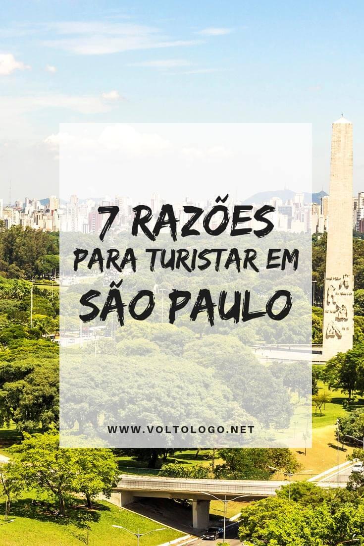 Turismo em São Paulo-SP: Descubra porque a maior metrópole brasileira pode ser um excelente destino para as sua próximas férias.
