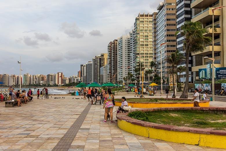 melhores bairros para ficar em Fortaleza