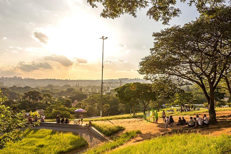 como chegar na Praça do Pôr do Sol, em São Paulo