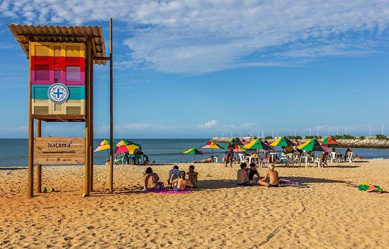 praias para se hospedar em Fortaleza